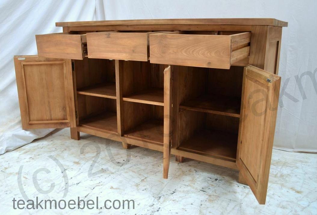 teak anrichte 150 x 90 x 50 cm teakm. Black Bedroom Furniture Sets. Home Design Ideas