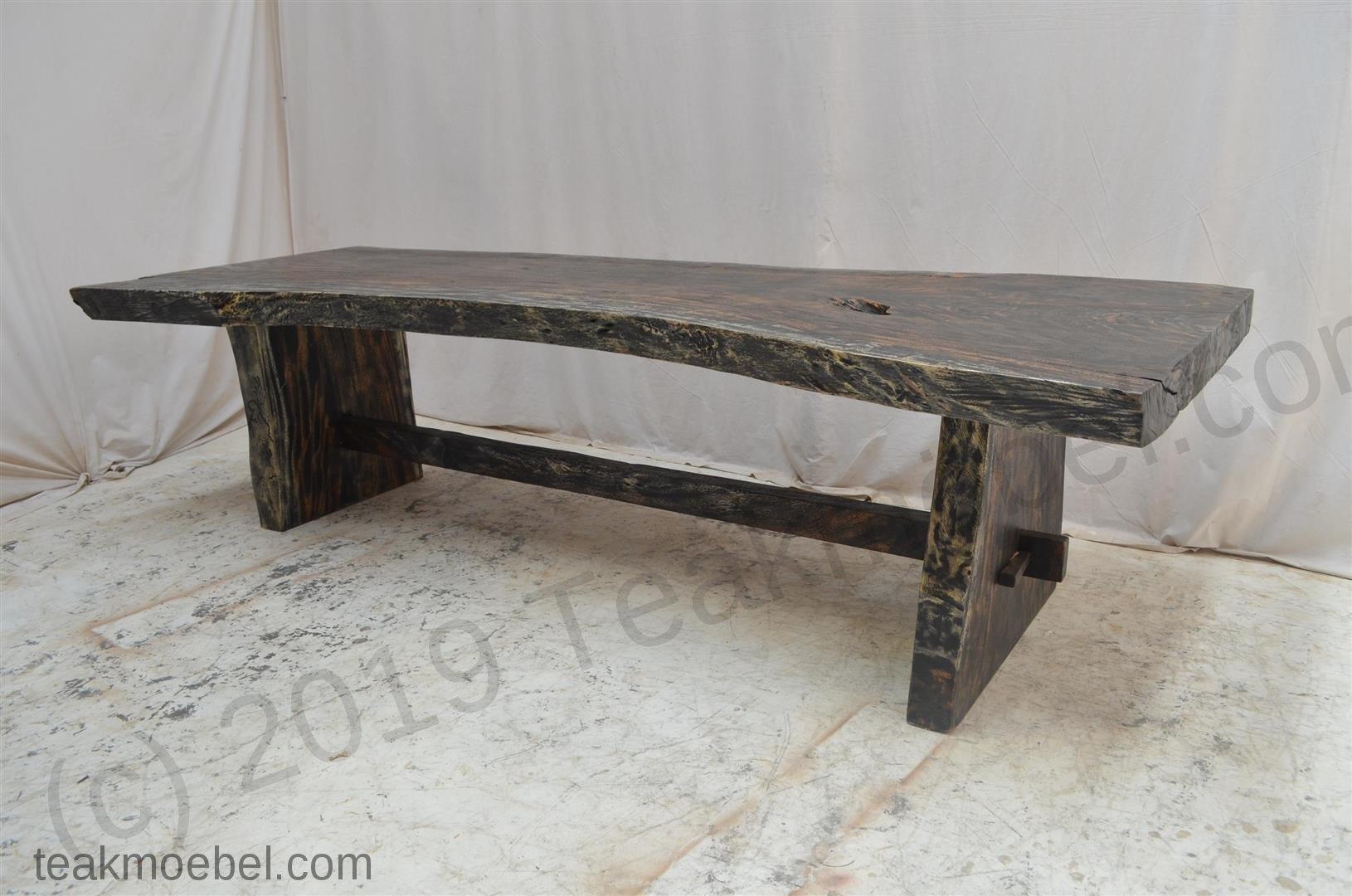 baumstamm tisch blackwash 250cm teakm. Black Bedroom Furniture Sets. Home Design Ideas