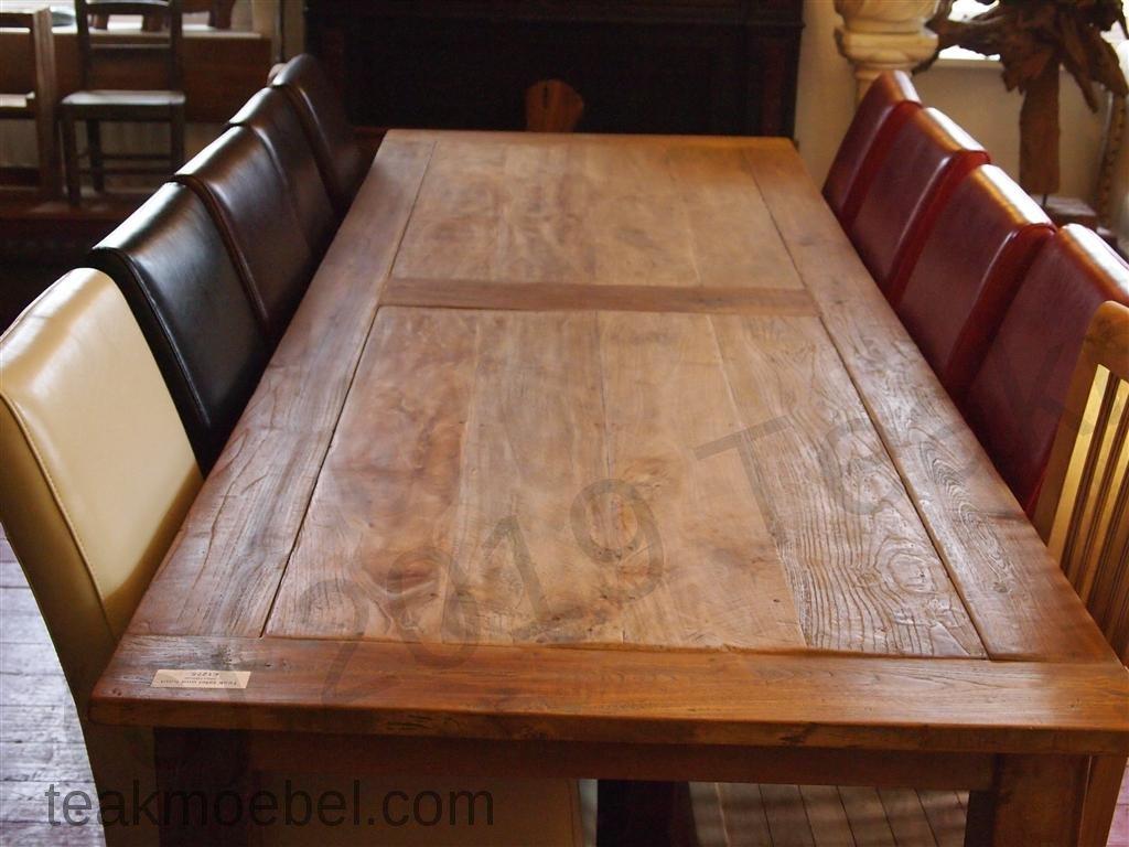 Schon Teak Tisch Altes Holz 300 X 100 Cm   Bild 3