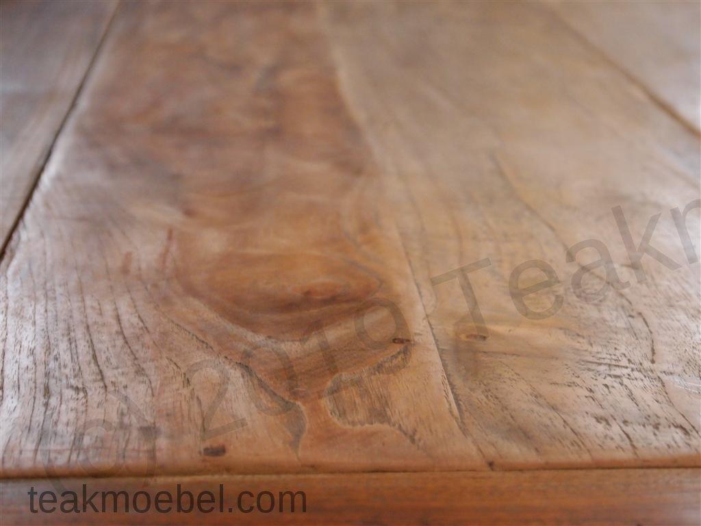 Teak tisch altes holz 300 x 100 cm teakm - Holz hartegrade tabelle ...