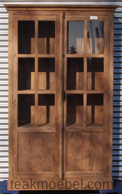 teak schrank 130 x 50 x 220 cm teakm. Black Bedroom Furniture Sets. Home Design Ideas