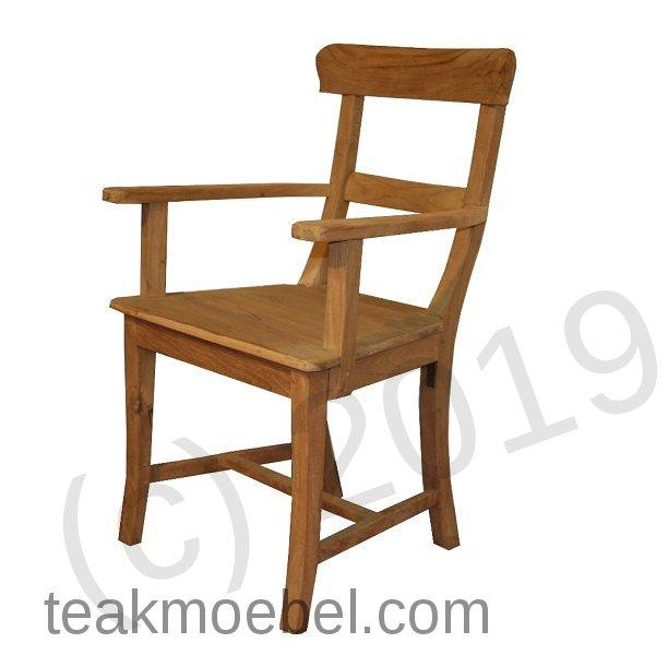 teak stuhl mit armlehne berlin. Black Bedroom Furniture Sets. Home Design Ideas