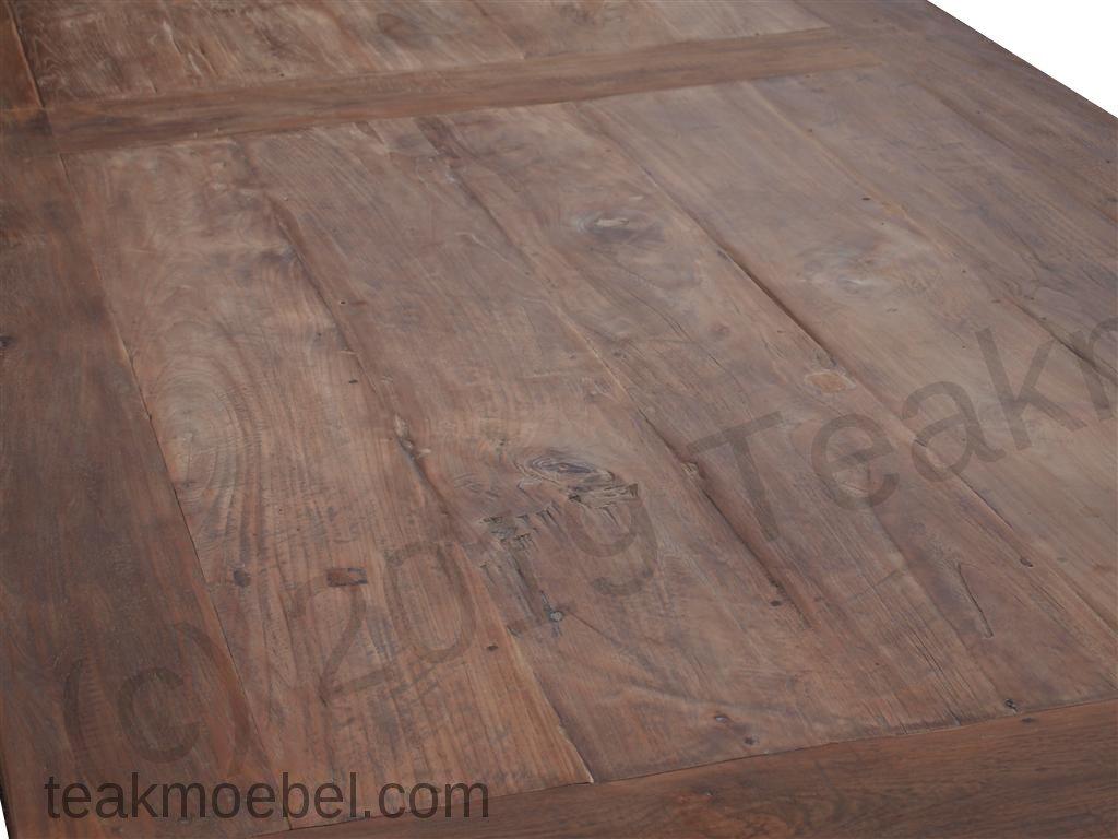 teak tisch altes holz 320 x 120 cm. Black Bedroom Furniture Sets. Home Design Ideas