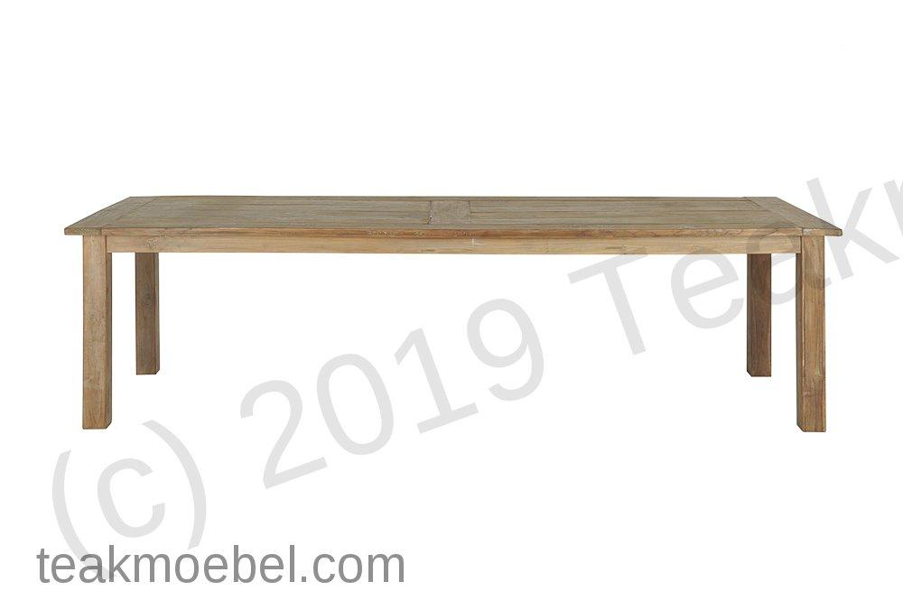teak tisch altes holz 300 x 100 cm teakm. Black Bedroom Furniture Sets. Home Design Ideas
