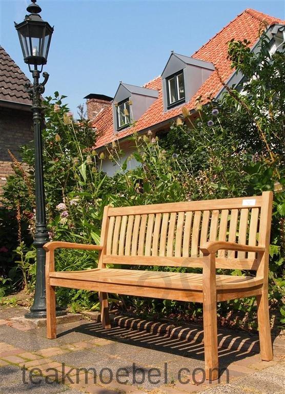 Teak Holz Gartenbank 150 Cm Beaufort | Teakmoebel.Com