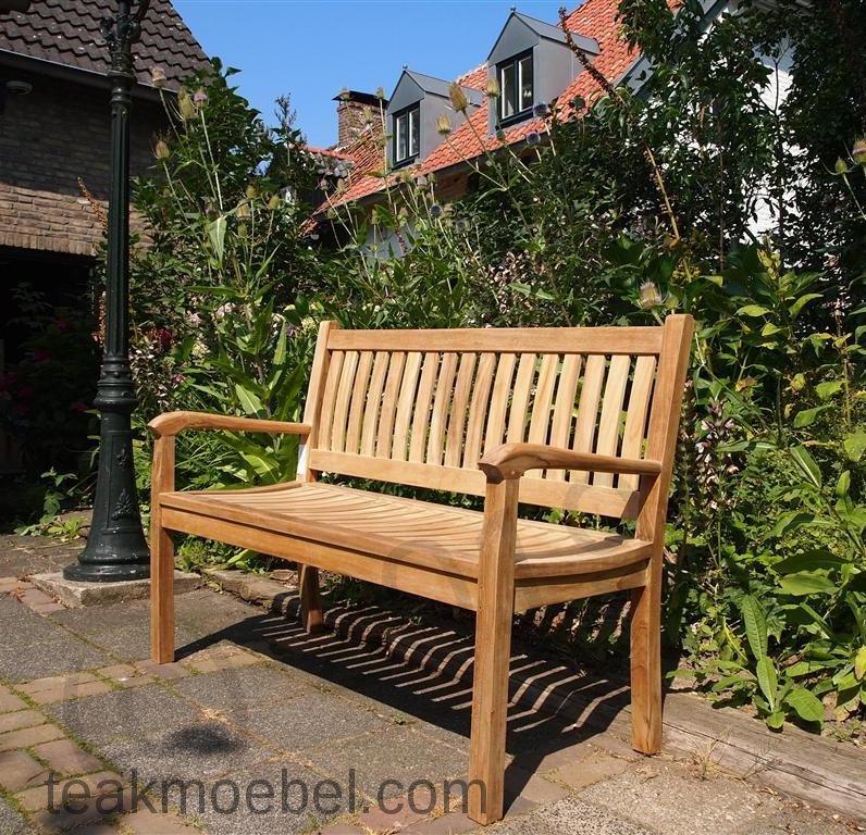 teak holz gartenbank 130 cm beaufort. Black Bedroom Furniture Sets. Home Design Ideas