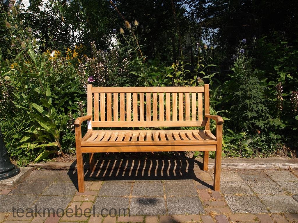 teak holz gartenbank 130 cm beaufort teakm. Black Bedroom Furniture Sets. Home Design Ideas