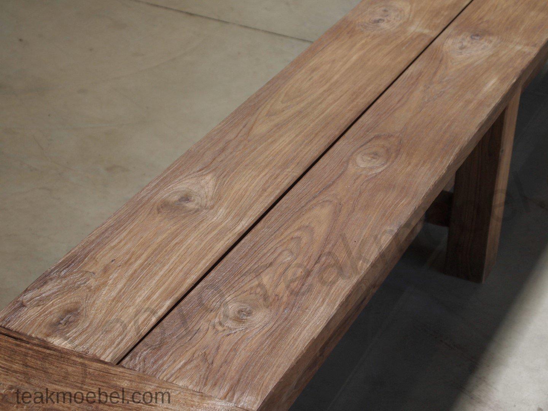 teak gartenbank ohne lehne 280cm teakm. Black Bedroom Furniture Sets. Home Design Ideas