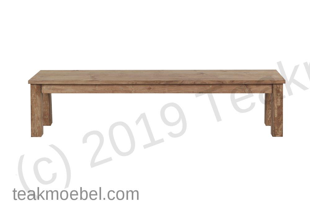 Teak Bank Lesung 120cm   Teakmöbel.com