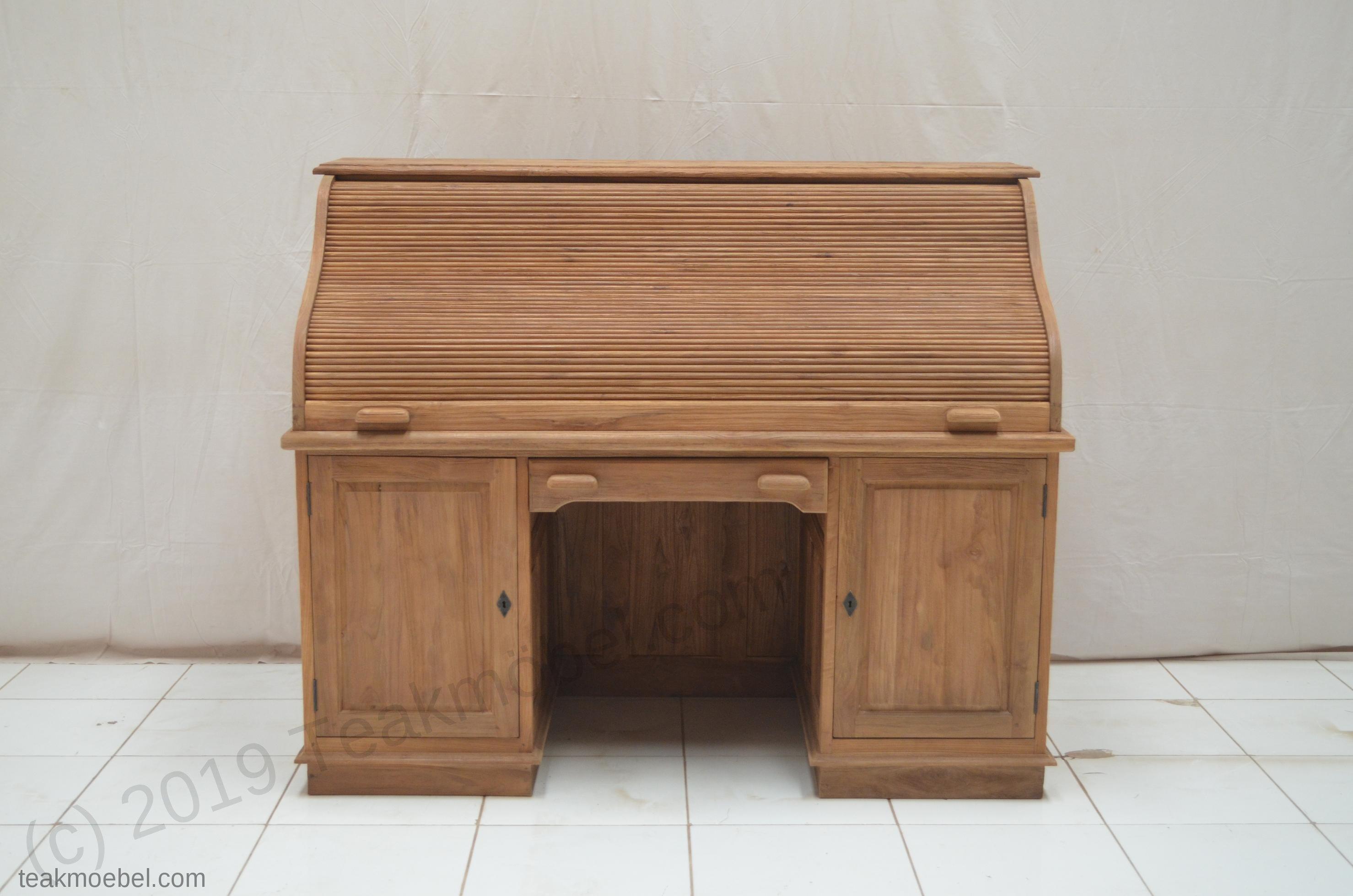 teak schreibtisch teakm. Black Bedroom Furniture Sets. Home Design Ideas