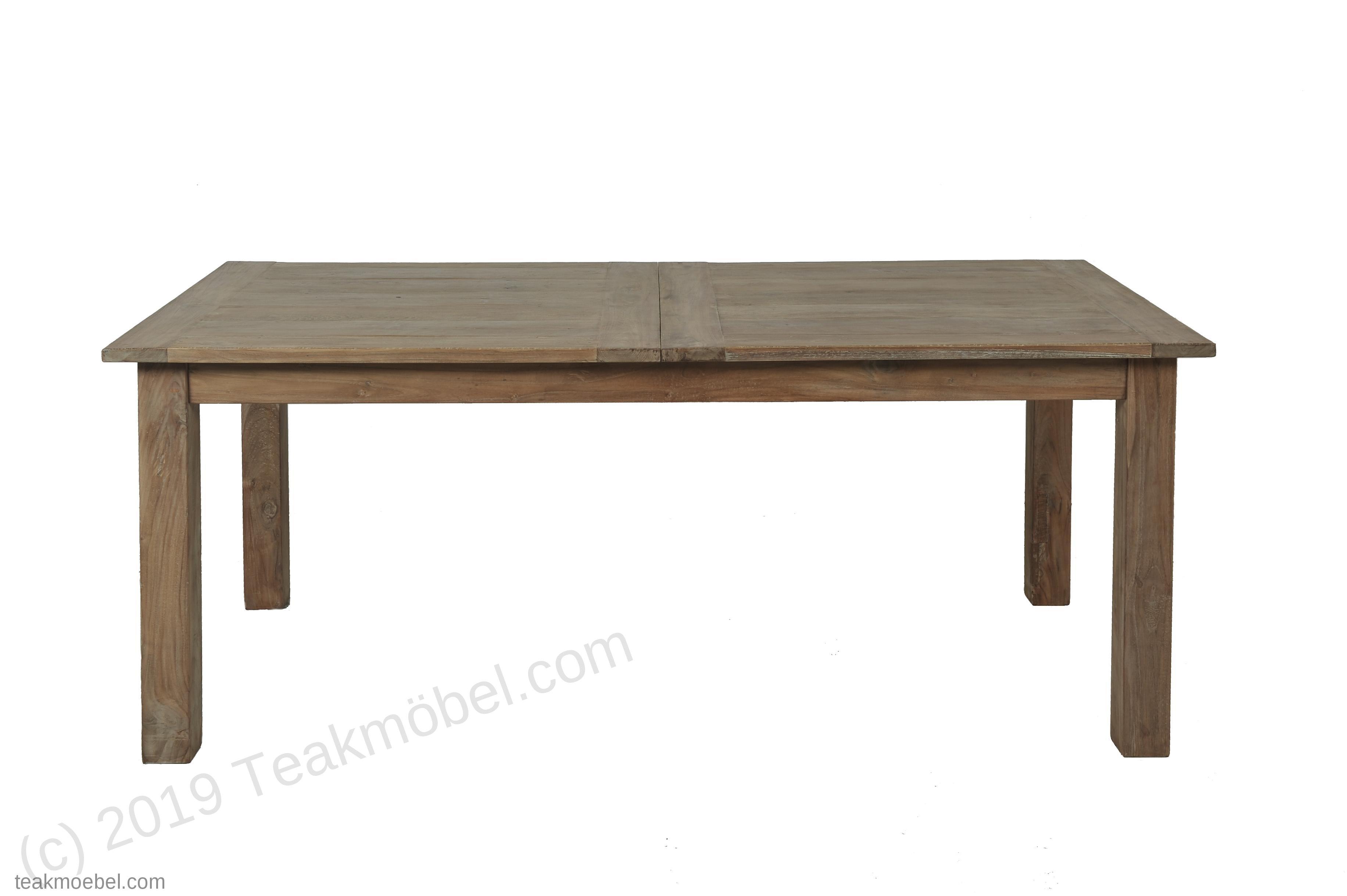 teak esstisch ausziehbar 200 250 300x100 12 st hle teakm. Black Bedroom Furniture Sets. Home Design Ideas