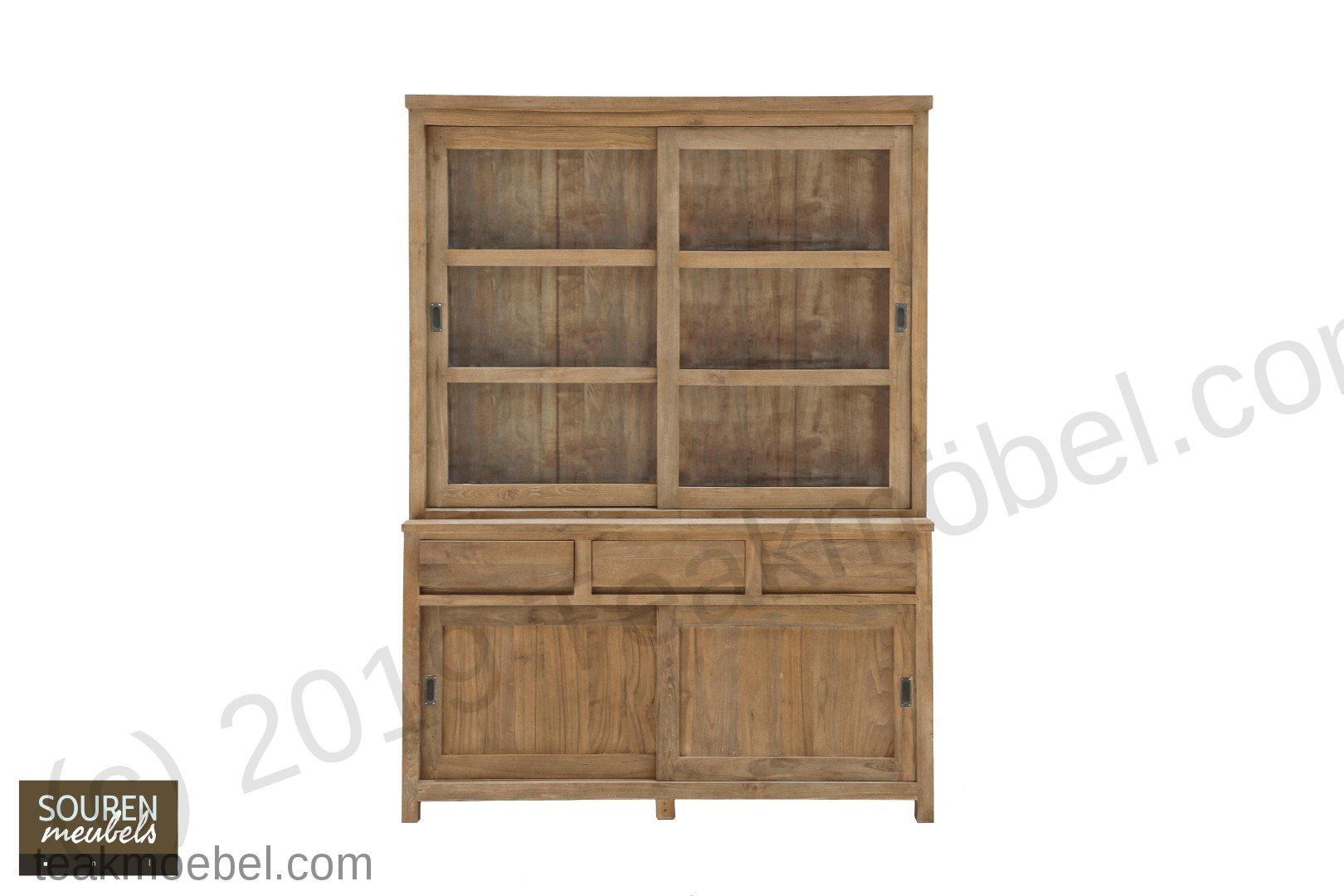 teak schrank 160cm modern teakm. Black Bedroom Furniture Sets. Home Design Ideas