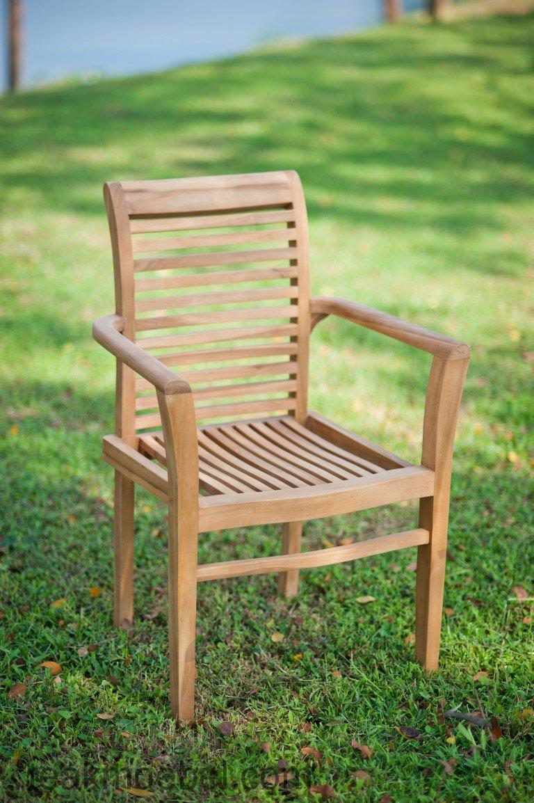teak gartenstuhl stapelstuhl sale teakm. Black Bedroom Furniture Sets. Home Design Ideas