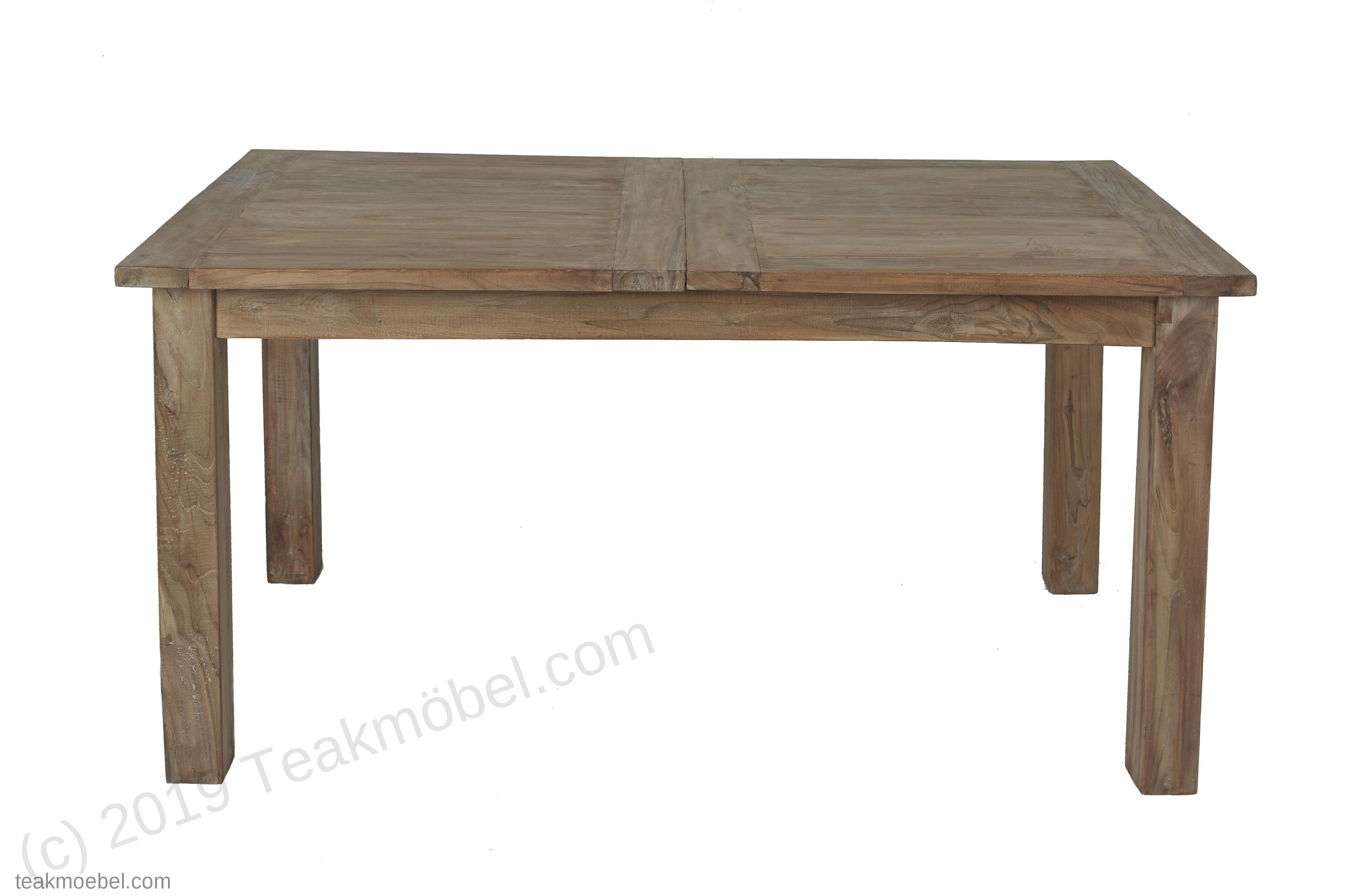 teakholz tisch ausziehbar 160 210 260x90 teakm. Black Bedroom Furniture Sets. Home Design Ideas
