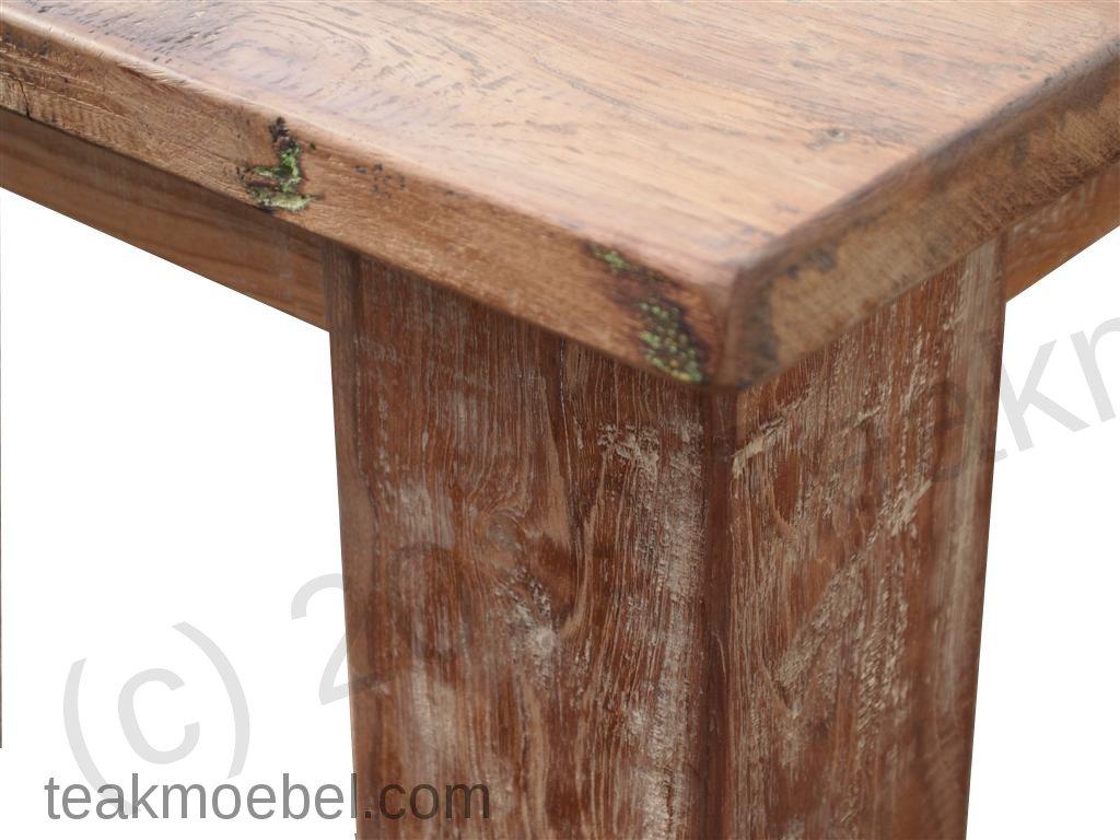 teak tisch altes holz 320 x 120 cm teakm. Black Bedroom Furniture Sets. Home Design Ideas