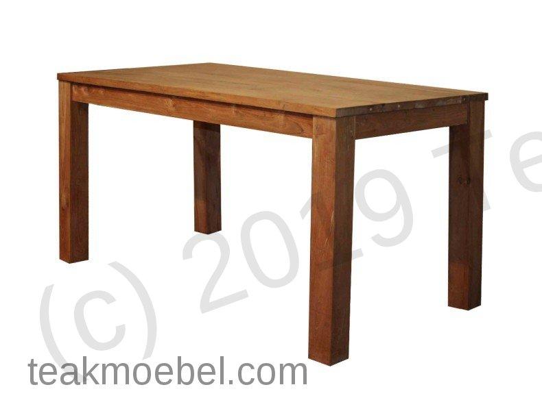 teak tisch 140 x 80 cm teakm. Black Bedroom Furniture Sets. Home Design Ideas